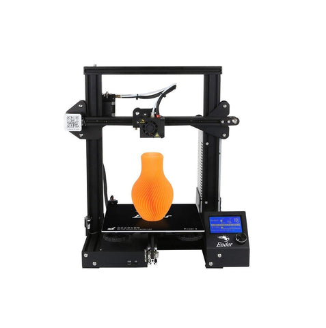 Creality 3D Ender-3 V-slot Prusa I3 DIY 3D Printer Kit 220x220x250mm Printing Size With Power Resume Function/MK10 Extruder 1.75mm 0.4mm Nozzle