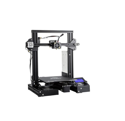 Creality 3D Ender-3 Pro V-slot Prusa I3 DIY 3D Printer 220x220x250mm Printing Size With Magnetic Removable Platform Sticker/Power Resume Function/Off-line Print - Robodo