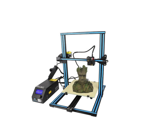Creality 3D CR-10S DIY 3D Printer Kit 300*300*400mm Printing Size With Z-axis Dual T Screw Rod Motor Filament Detector 1.75mm 0.4mm Nozzle - Robodo