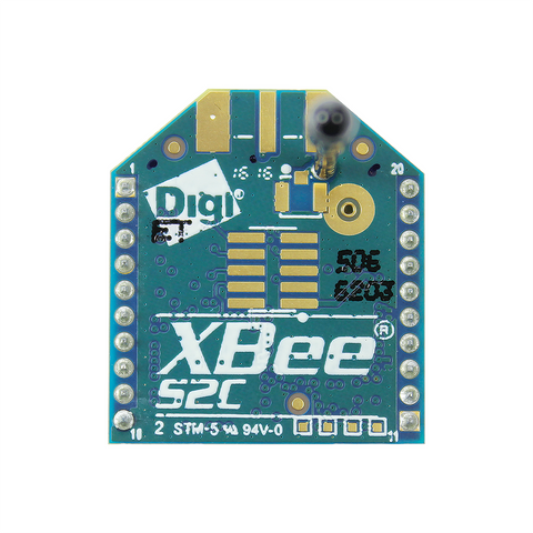 XBee Module S2C 802.15.4 2mW with Wire Antenna XB24CZ7WIT-004