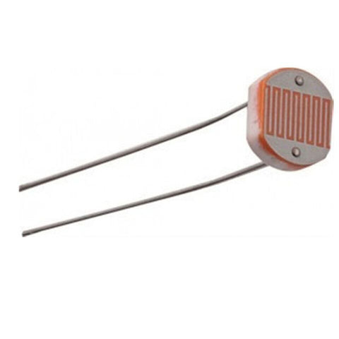 10pcs x LDR Photocell Resistor SensorLight Dependent. - Robodo
