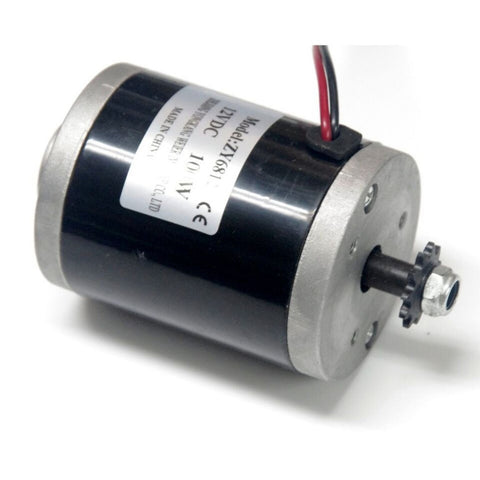12 Volt 100 Watt MY6812 Electric Motor with sprocket - Robodo
