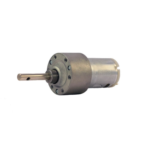 12v DC Johnson Side Shaft Gear, Geared Motor 100 rpm High Torque - A Grade - Robodo