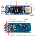 Dc 4.5-40v to 5v 2a USB charger dc-dc step-down buck converter voltmeter