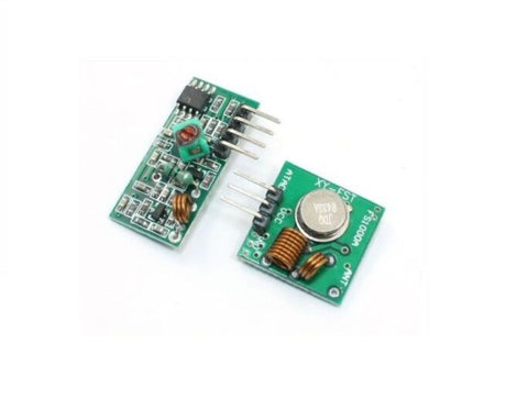 Low Cost 433Mhz RF transmitter and receiver link kit for Arduino - Robodo