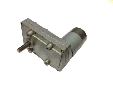 12v DC Square Gear / Geared Motor 100 RPM - High Torque - Robodo
