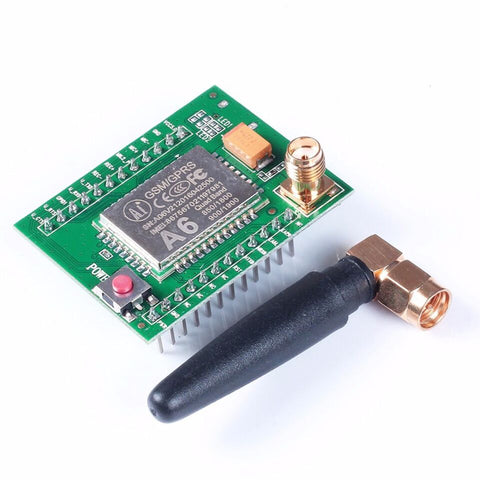 A6 GSM GPRS Module Quad Band SMS Voice 850/900/1800/1900 with Antenna