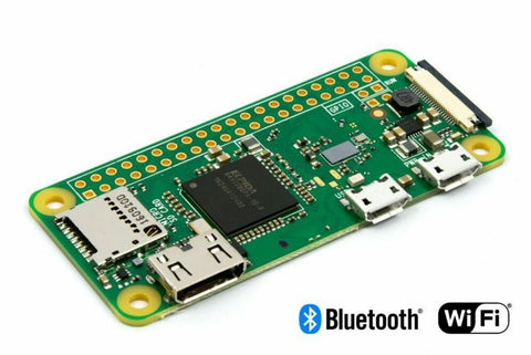 Raspberry Pi and ComponentsZERO W and Case with wireless LAN and Bluetooth connectivity - Robodo