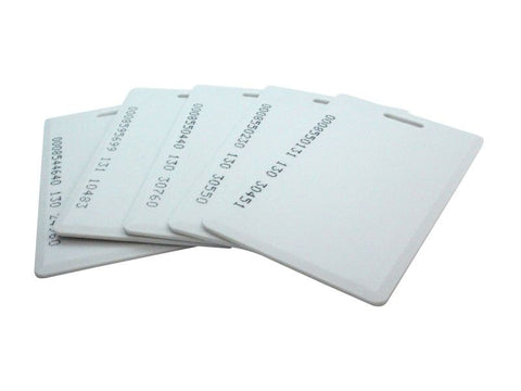 10pcs RFID Card/Tag 125KHz EM4100 Family Proximity Door Control Entry Access Card - Robodo