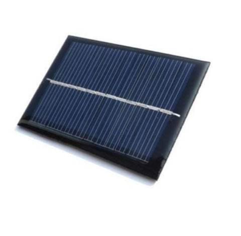 6v 100mA mini Solar Panel for DIY Projects - Robodo
