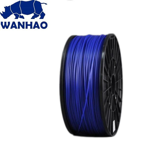 Wanhao Dark Blue ABS 1.75 mm 1 KG Filament for 3d printer - Premium Quality