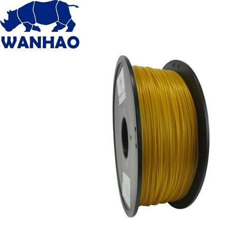 Wanhao Gold PLA 1.75 mm 1 KG Filament for 3d printer - Premium Quality