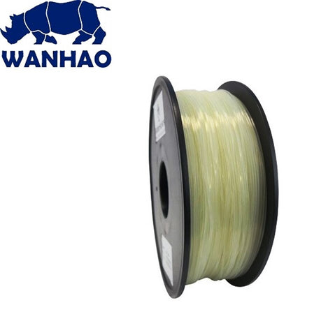 Wanhao Natural ABS 1.75 mm 1 KG Filament for 3d printer - Premium Quality