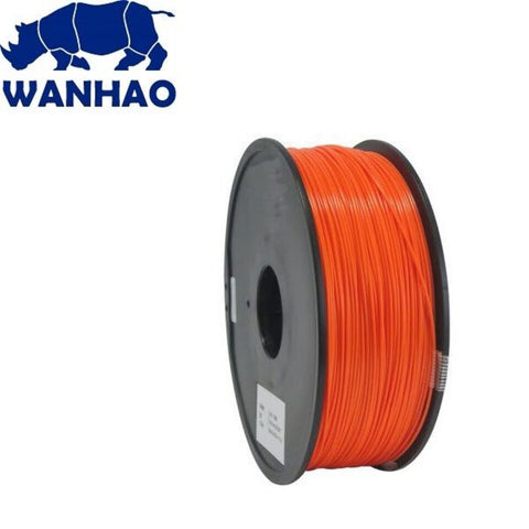 Wanhao Orange PLA 1.75 mm 1 KG Filament for 3d printer - Premium Quality