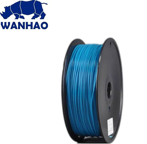Wanhao Peacock Blue ABS 1.75 mm 1 KG Filament for 3d printer