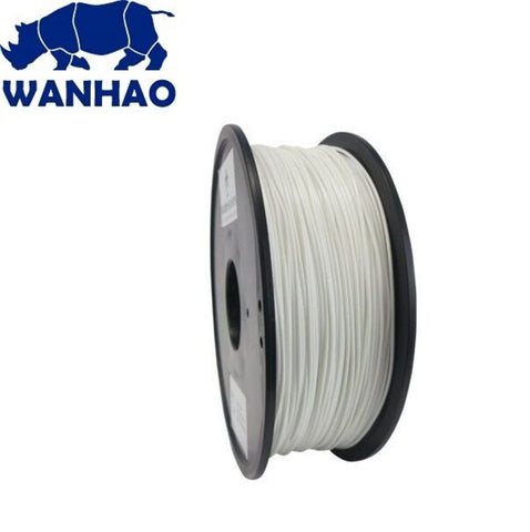 Wanhao White PLA 1.75 mm 1 KG Filament for 3d printer - Premium Quality