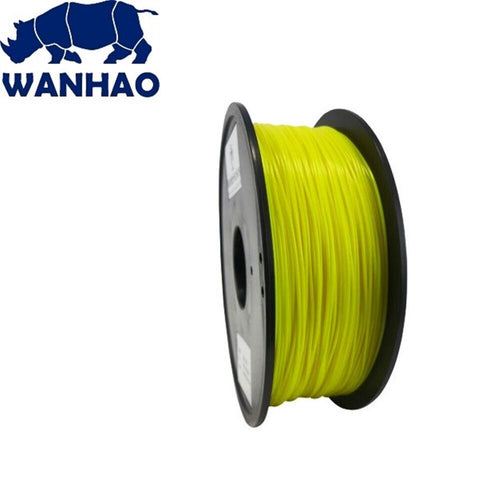 Wanhao Yellow ABS 1.75 mm 1 KG Filament for 3d printer - Premium Quality