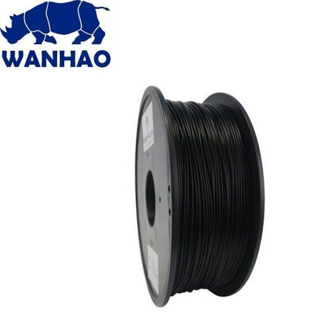 Wanhao Black ABS 1.75 mm 1 KG Filament for 3d printer - Premium Quality