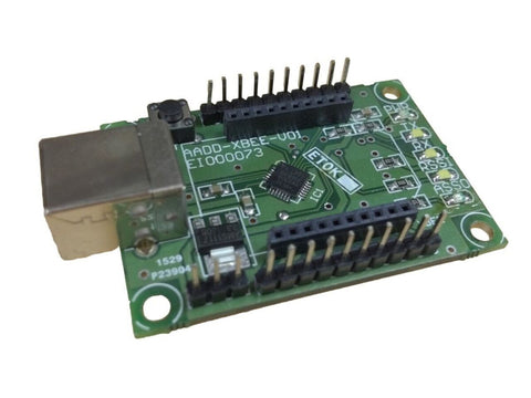 XBee / ZigBee Adapter board with USB interface