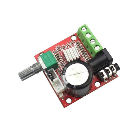 12v 2x10w hi-fi pam8610 audio stereo amplifier board module duel D class