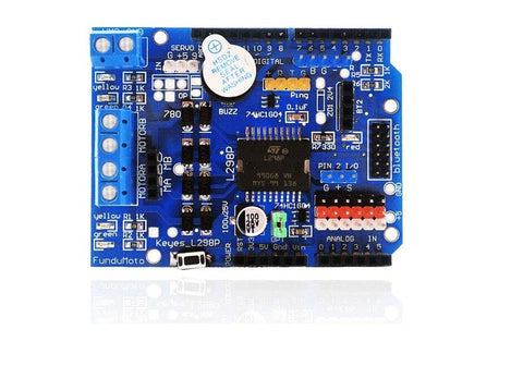 L298P Motor Shield motor driver for arduino