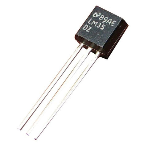 5pcs x LM35 LM35DZ Precision Centigrade/Celsius Temperature Sensor
