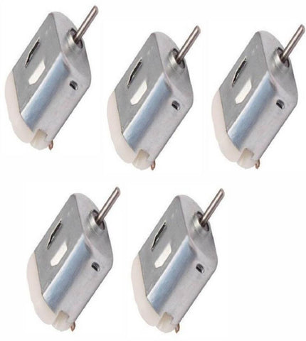 5 pcs x Small Electric DC Motor 6v, High-speed, for RC Toys and RC Cars - Robodo