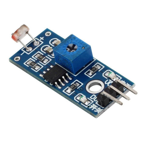 Photo-resistor LDR Light Sensor Module - LM393 based - Robodo