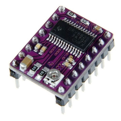 DRV8825 Stepper Motor Driver with Aluminum Heat Sink - Robodo