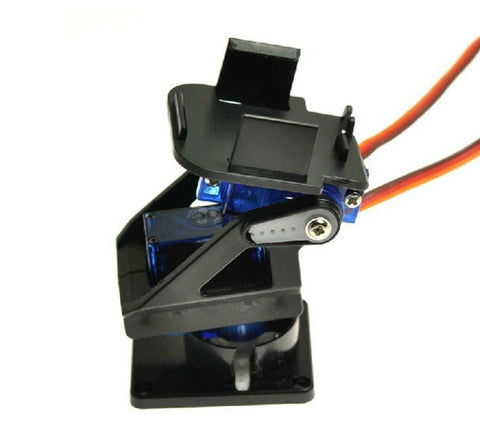 Servo bracket PT pan/till camera platform anti-vibration camera mount for aircraft FPV Dedicated nylon PTZ for 9G SG90