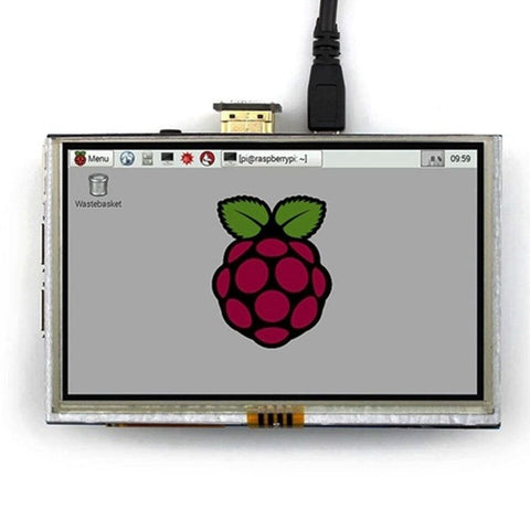 5 inch LCD HDMI Touch Screen Display TFT LCD Panel Module 800*480 for Raspberry PI - Robodo