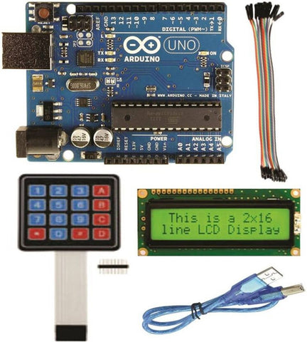 Arduino UNO Kit for Robotic Projects - Robodo