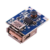 5V step-up power module lithium battery charging board boost converter LED display USB for DIY charger