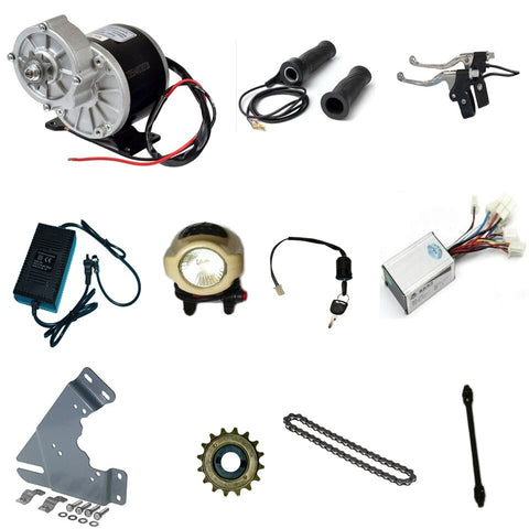 Combo Kit - MY1016Z3 350W Motor DIY Ebike, Electric Bicycle Kit