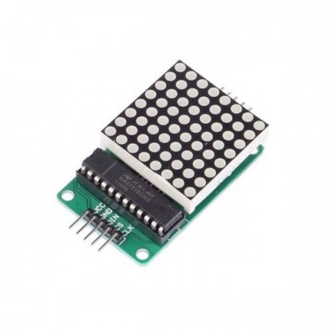 MAX7219 Dot Led Matrix Module - Robodo