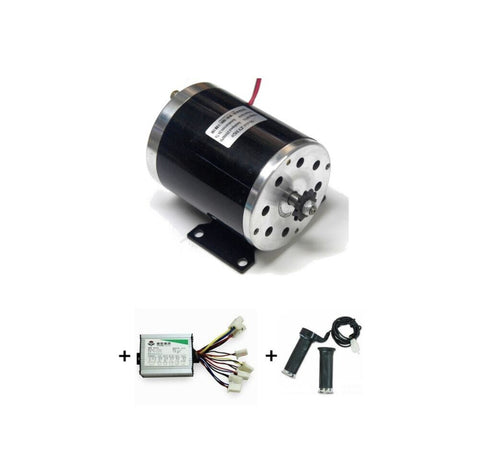 MY1020 500W + Motor Controller + Twist Throttle, DIY Electric Bicycle Kit