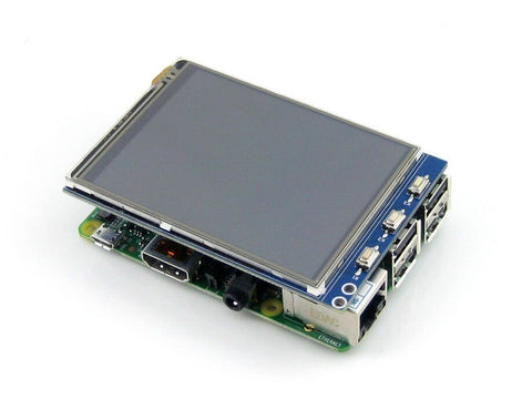 Waveshare Raspberry Pi LCD Display Module 3.2inch TFT Resistive Touch Screen Panel SPI Interface - Robodo
