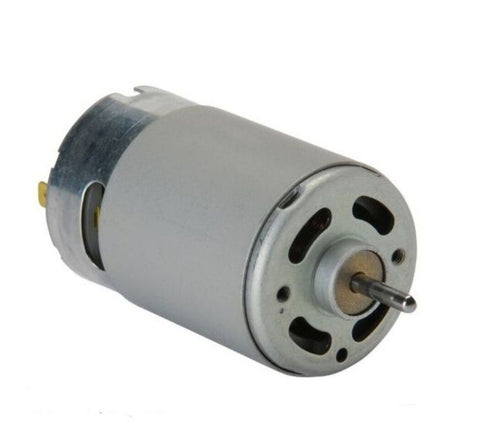 DC 12V Multipurpose Brushed Motor for DIY applications PCB Drill - Robodo