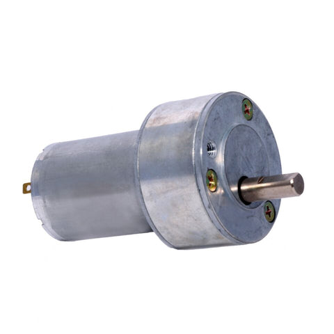 12v DC RS-50-555 Gear / Geared Motor 10 RPM - High Torque - Robodo