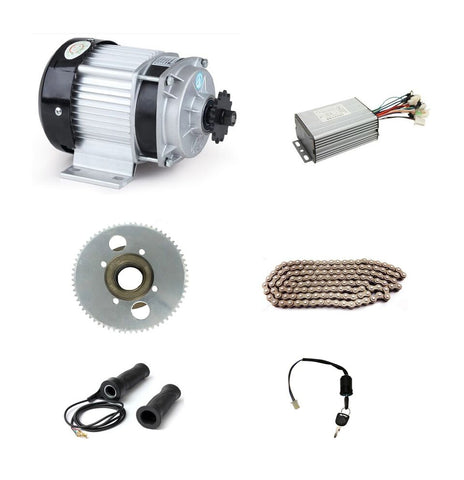 DC 48V 350W BM1418ZXF brushless motor, electric bicycle kit, DIY E-Tricycle