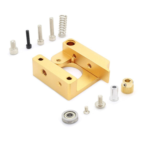 MK8 single nozzle head extruder aluminum block DIY kit for 3d printer Makerbot - Robodo