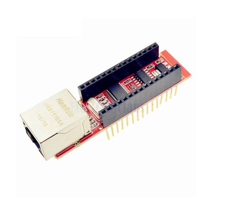 Nano V3 Ethernet Shield ENC28J60 Microchip HR911105A Ethernet Webserver Board Module for Nano 3.0