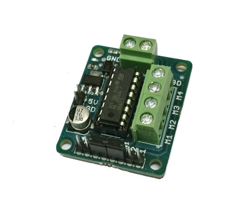 L293d Dual Motor Driver H-BRIDGE Module Board for Arduino, Raspberry Pi