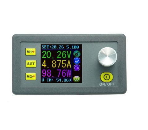 DP50V5A Constant Voltage current Step-down Programmable Power Supply module buck Voltage converter color LCD voltmeter