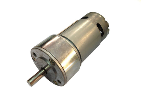 12v DC Tauren Gear / Geared Motor 100 RPM - High Torque - Robodo