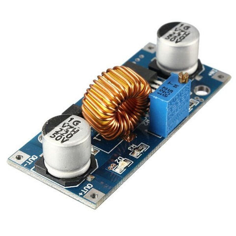 XL4015 5A DC-DC Step Down Adjustable Power Supply Buck Module LED w/ Heatsink