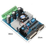TB6560 CNC 3 Axis Stepper Motor Driver Controller Board For Mach3 KCAM4 EMC2 36V