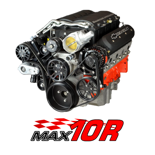 Chevy LS Supercharger Kits MAX 10R 10-Rib