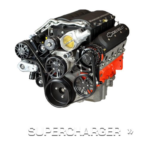 Chevy LS Supercharger Pulley Kits