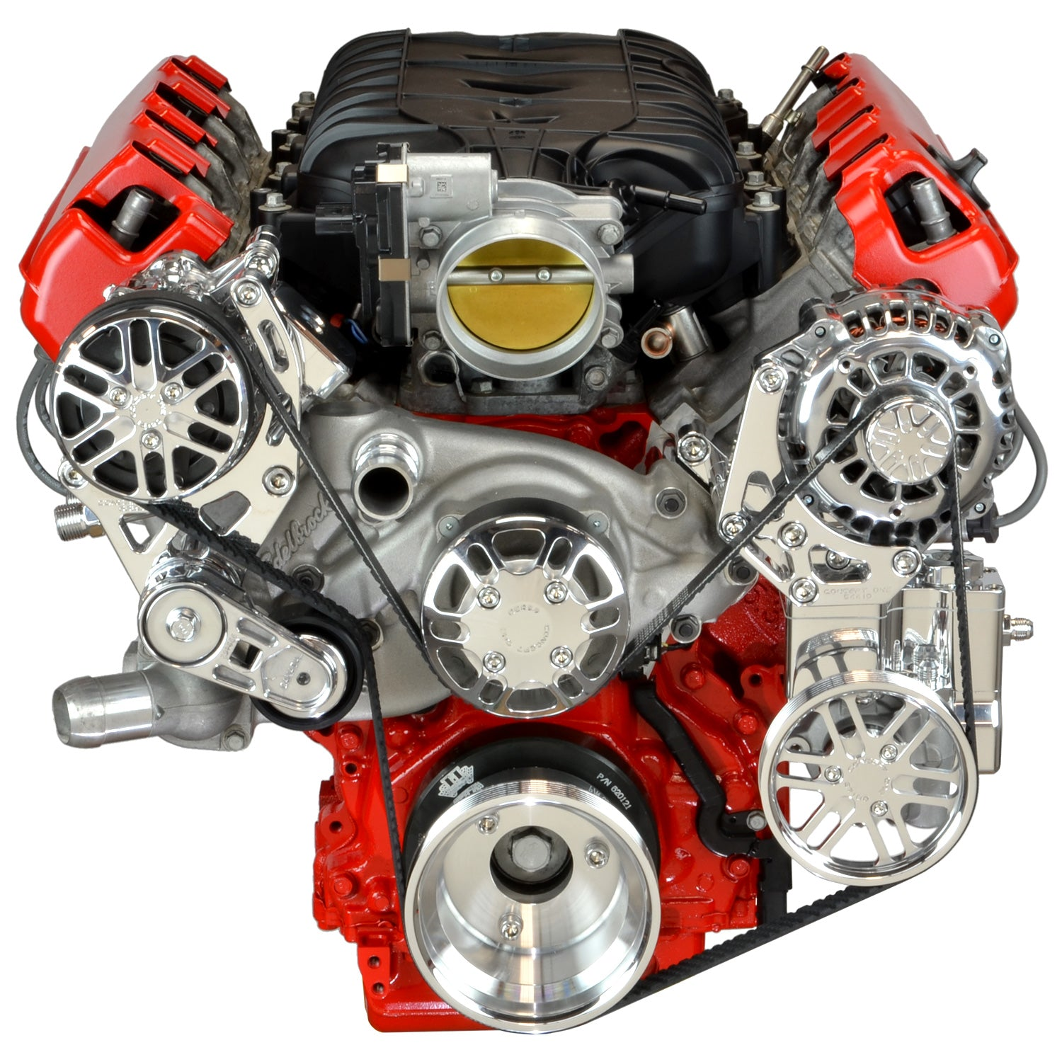 Chevy LT Victory Series Kit with Alternator, A/C and Power Steering